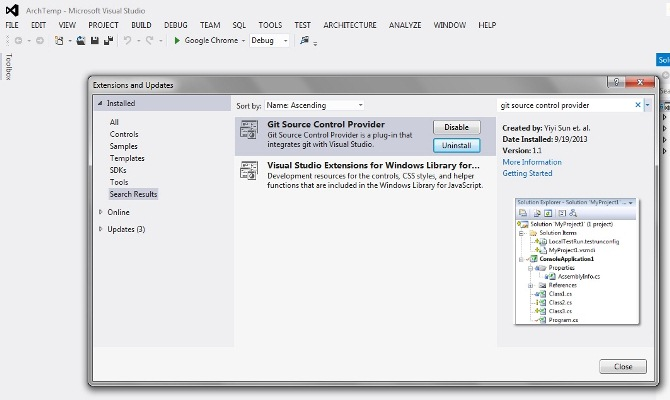 git and Dropbox Integration within Visual Studio - CodeProject