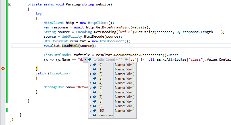 How to Parse HTML using C# - CodeProject