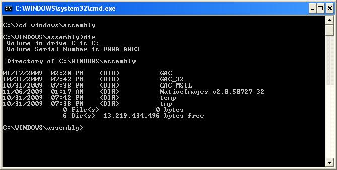 Copy DLL from GAC - CodeProject