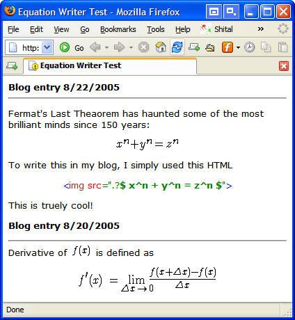Enable Your Users to Write Math Equations in Your Web and