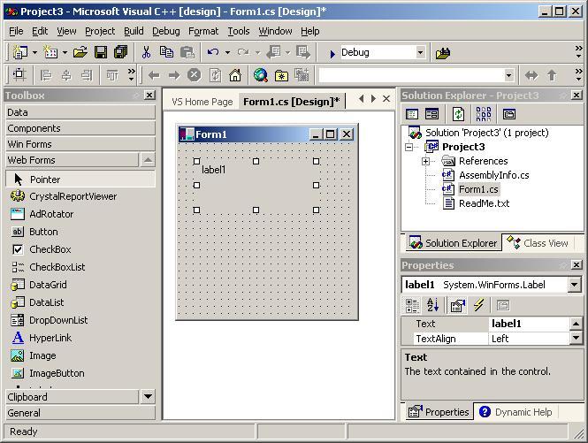 Visual Studio.NET screen shots - CodeProject