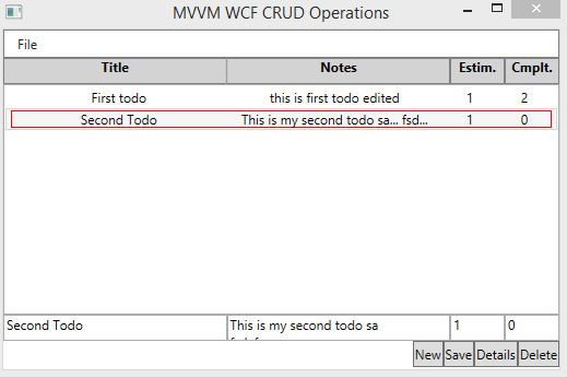 MvvmCrudGv - (Roll you own Wpf Mvvm Framework CRUD application