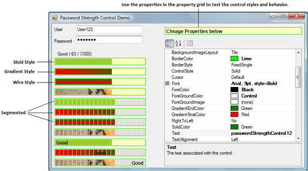 Password Strength Control - CodeProject