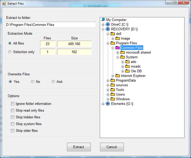 Processing Standard Zip Files with C# compression/decompression