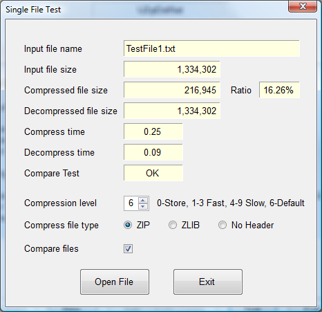 Processing Standard Zip Files with C# compression