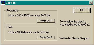 Writing AutoCad DXF files - CodeProject