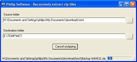 Massive unzip application - CodeProject