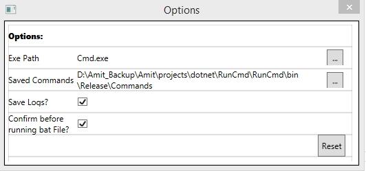 RunCmd - (A WPF-MVVM Batch File Editor/Runner Utility