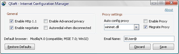 Internet Configuration Manager - CodeProject