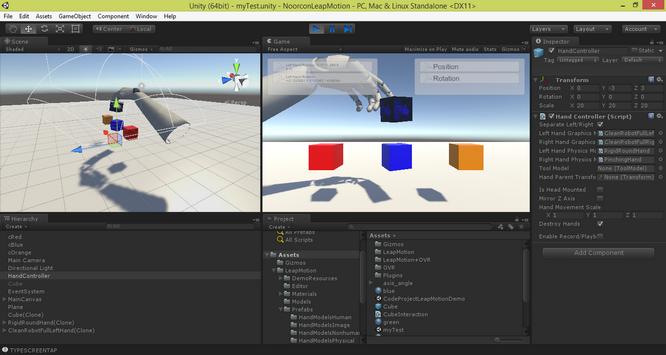 UNITY 3D – Leap Motion Integration - CodeProject