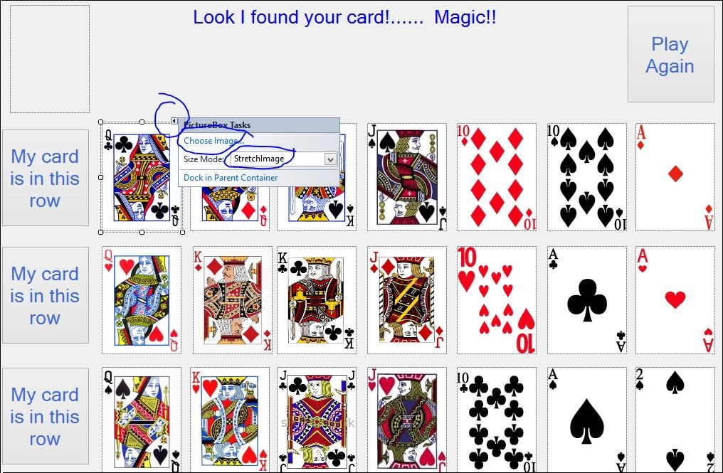 21st Card Magic in C# NET - CodeProject