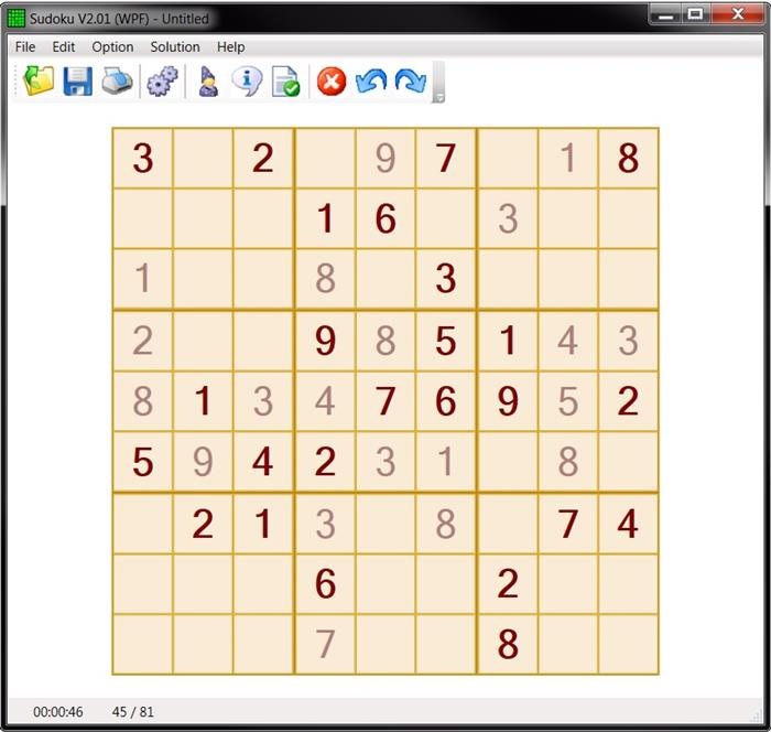 graphic relating to Sudoku 16x16 Printable known as A Sudoku software package with some superior options - CodeProject