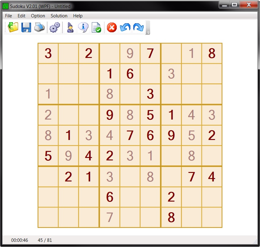 A Sudoku program with some advanced features - CodeProject