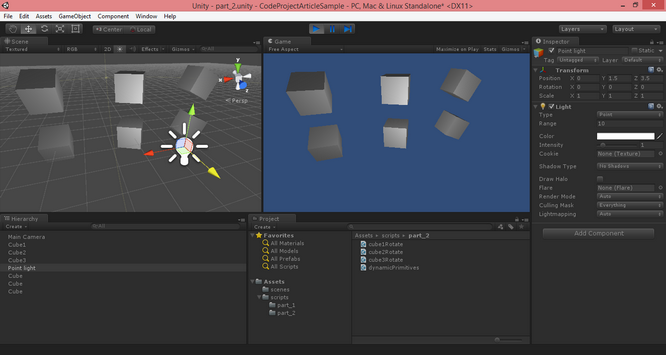 UNITY 3D – Game Programming – Part 2 - CodeProject