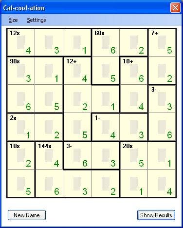 Calcoolation A Math Puzzle Board Game Codeproject