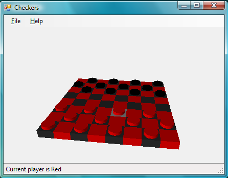 Example using Checkers logic