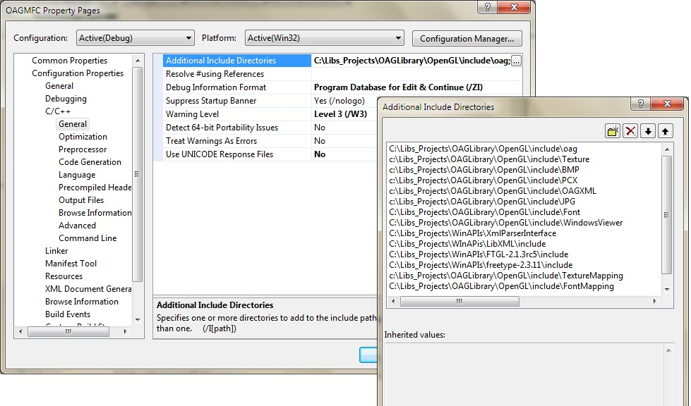 OAG Library (OpenGL) Part 1 - Setting Up the Library for an