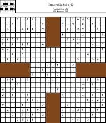 informed search algorithms to solve sudoku samurai codeproject