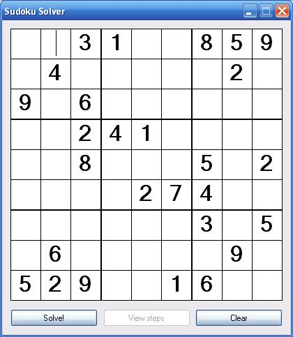 sudoku algorithm strategies to avoid backtracking codeproject