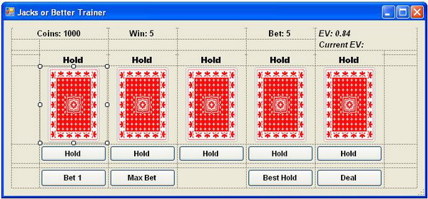 Strategy for winning at blackjack