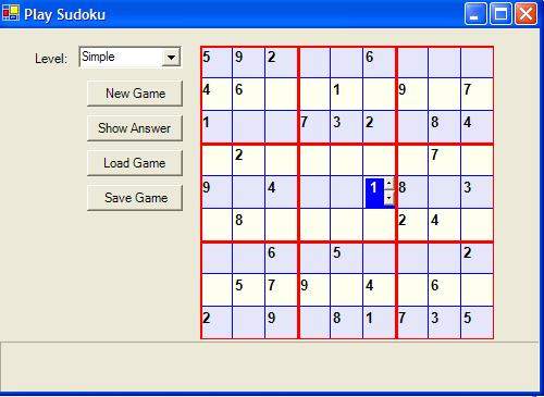 Sudoku Game In C Codeproject