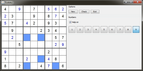 Sudoku Game In Java Codeproject