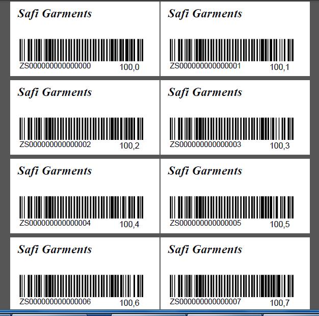 barcode generator barcode garments