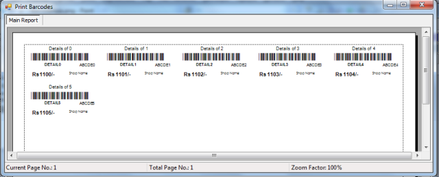 Generating Labels With Barcode In C Using Crystal Reports Codeproject