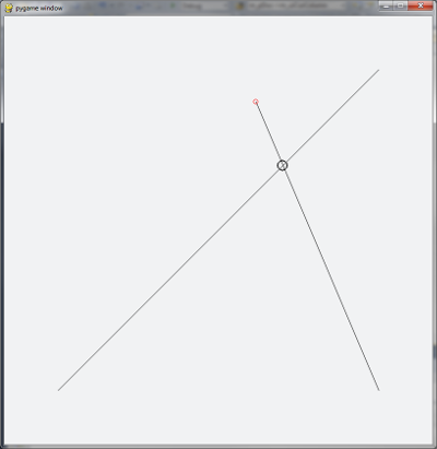 Python Line Intersection for Pygame - CodeProject