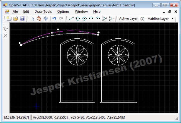 Opens cad a simple 2d cad application codeproject Simple 2d cad