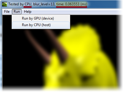 Fast Image Blurring with CUDA - CodeProject