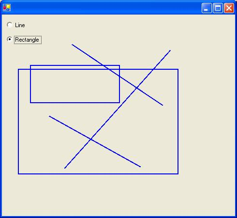 Drawing Lines And Rectangles Using The Mouse Codeproject