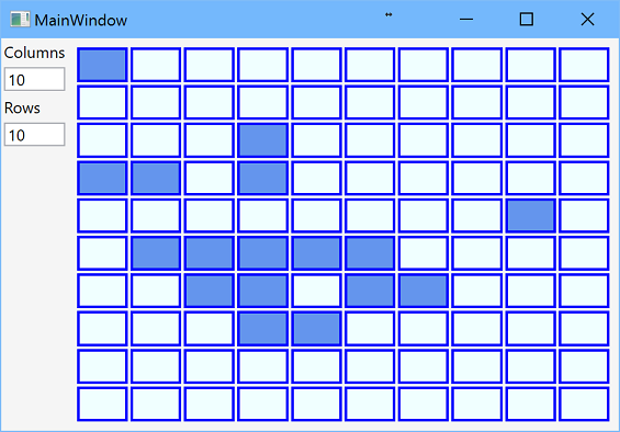 WPF Grid: Dynamic Rows and Columns