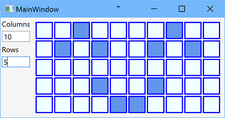 Grid main window
