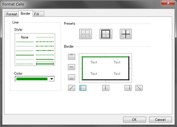 شبكة البيانات Spreadsheet Control التى تحتوي على جميع وظائف ملف Excel. 06