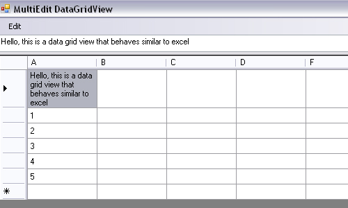 Multiple Cell Edit Custom DataGridView - CodeProject