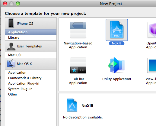 Creating an Xcode Project Template - CodeProject