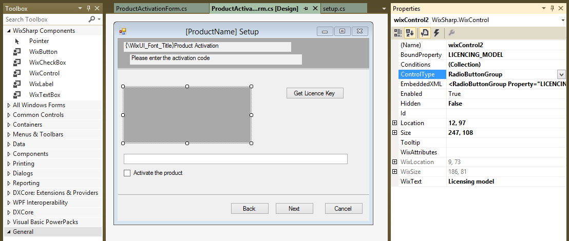 Wix Wixsharp Ui Extensions Codeproject