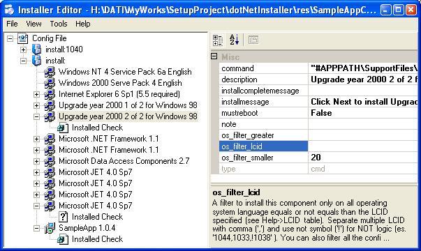 dotnetinstaller setup bootstrapper for net application codeprojectthe editor installereditor exe
