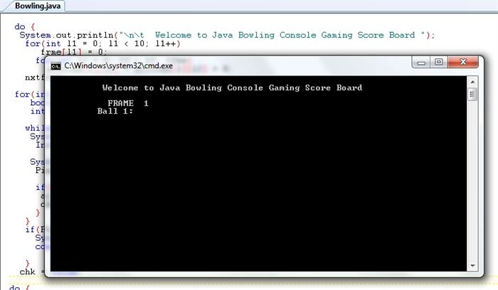 Bowling Score Board Game in Java - CodeProject