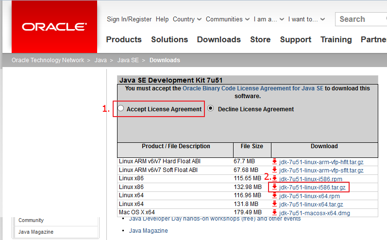 Downloading JDK with Java - CodeProject