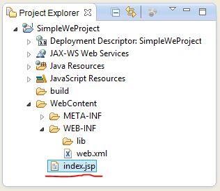 how to create jsp project in eclipse
