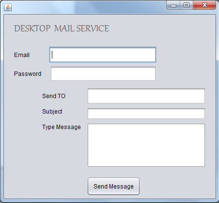 Mail Sender Demo Using JavaMail - CodeProject
