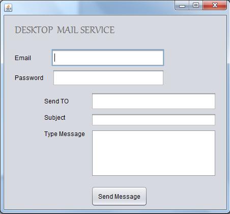 Mail Sender Demo Using JavaMail - CodeProject