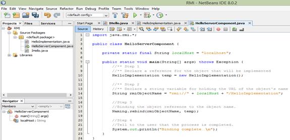 Remote Method Invocation (RMI) - CodeProject