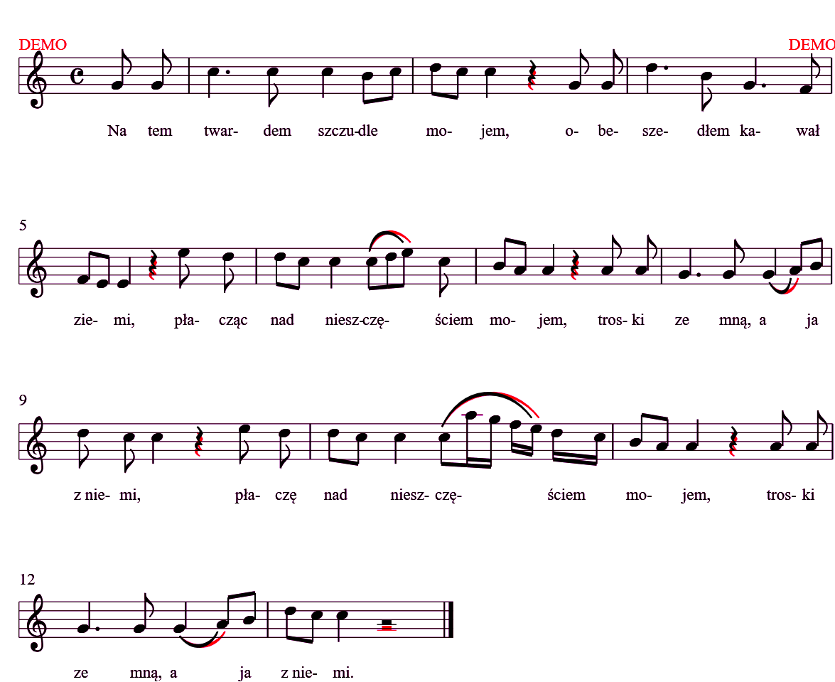 Music Notation in  NET - CodeProject