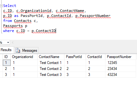 Tutorial on Handling Multiple Resultsets and Multiple