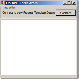 Tfs api process template currently applied to the team project connecting to tfs programmatically maxwellsz
