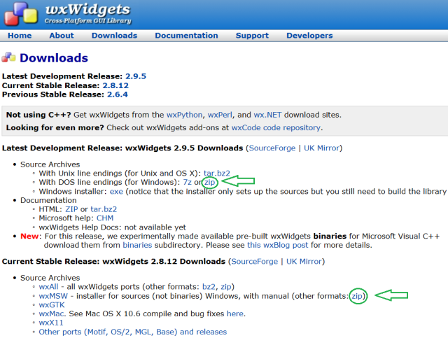 Using wxWidgets under Windows - CodeProject