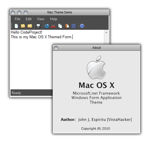 Mac OS X Theme for Windows Forms - CodeProject